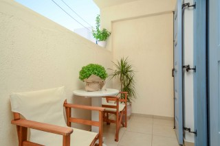Semi-Basement Apartment with Balcony ormos naxos room-06